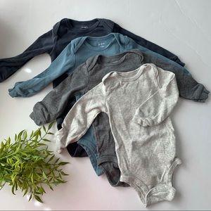 B1G1 FREE 💕 Long Sleeve Bodysuits